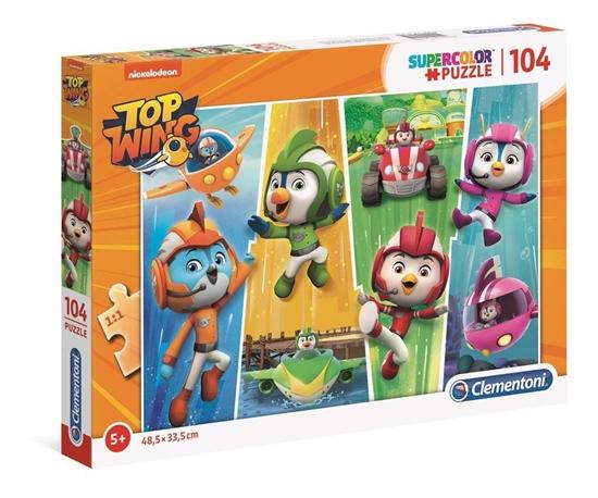 Puzzle 104 Super kolor Top Wing (27275 CLEMENTONI)