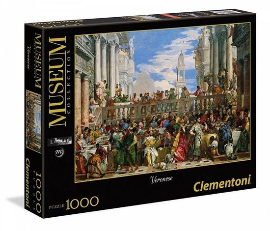 Puzzle 1000 Wesele w Kanie.Veronese (39391 CLEMENTONI)