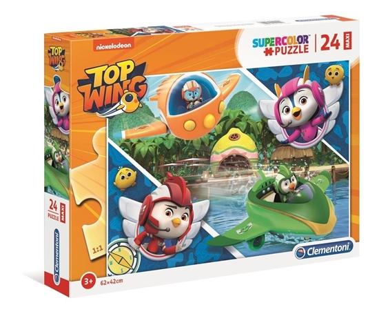Puzzle 24 Maxi Super kolor Top Wing (28514 CLEMENTONI)