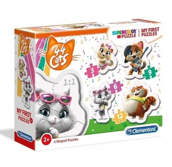 Moje Pierwsze Puzzle Cats (20812 CLEMENTONI)