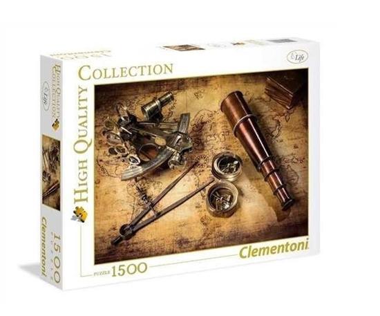 Puzzle 1500 Course To The Treasure (31808 CLEMENTONI)