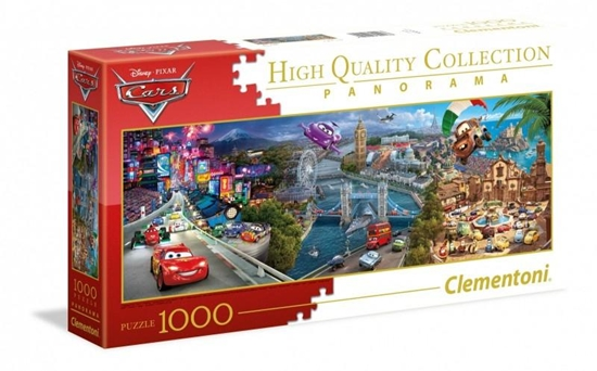 Puzzle 1000 Panorama Cars (39446 CLEMENTONI)
