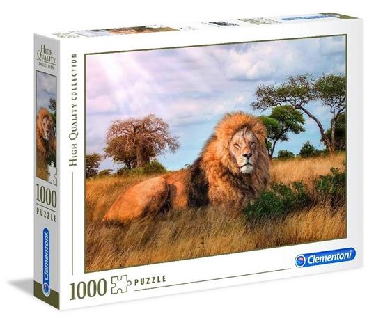 Puzzle 1000 HQ The king (39479 CLEMENONI)