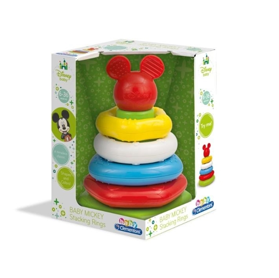 Disney Baby - Kolorowa wieża (17284 CLEMENTONI)