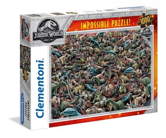 Puzzle 1000 elementów Impossible Jurassic World (GXP-648242)