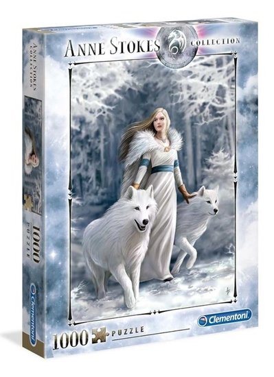 Puzzle 1000 Anne Stokes Collection Winter Guardian (GXP-684709)