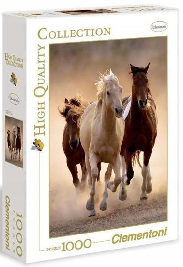 Puzzle 1000 HQ Running horses (39168)