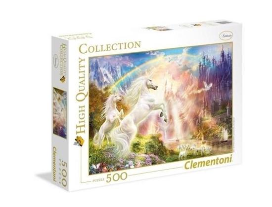 Puzzle 500 Sunset Unicorns (35054 CLEMENTONI)