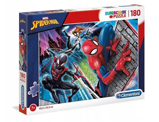 Puzzle 180 Super kolor Spiderman (29293 CLEMENTONI)