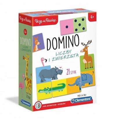 Domino Liczby i zwierzęta (GXP-683589)