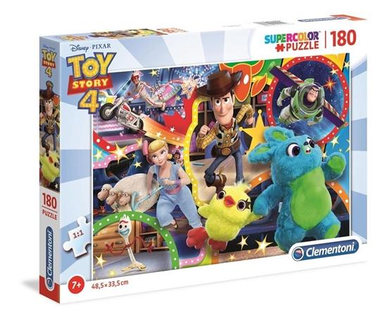 Puzzle 180 Super kolor Toy story 4 (29769 CLEMENTONI)