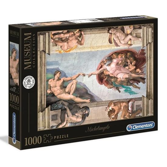Puzzle 1000 Museum Michelangelo Creazion (GXP-684350)