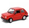 WELLY 1:21 Fiat 126p czerwony