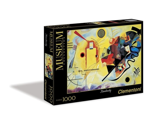 Puzzle 1000 Museum Modern Art Yellow-Red-Blue (39195)