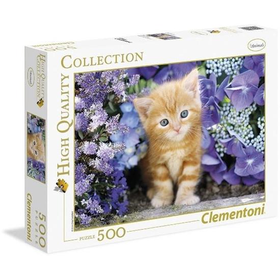 Puzzle 500 HQ Ginger cat (30415)