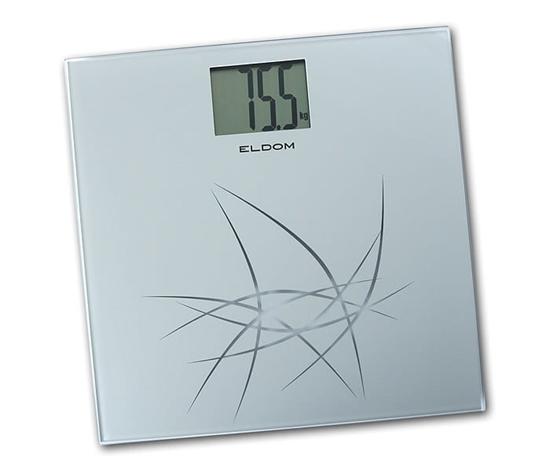 Szklana waga łazienkowa ELDOM GWO220