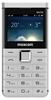 Telefon dla seniora MAXCOM MM760 Comfort Biały