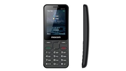 Zakrzywiony telefon Maxcom Classic MM139 Dual SIM Czarny