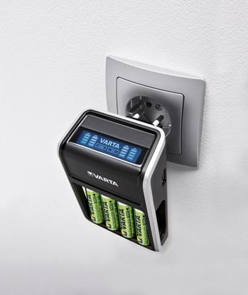 Ładowarka LCD PLUG CHARGER + ACCU R2U 2100mAh