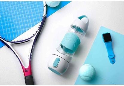 Xiaomi Wielofunkcyjny bidon sportowy Xiaomi Leyi DiDi Cup Blue