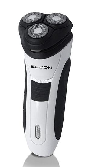 Golarka akumulatorowo-sieciowa ELDOM G47 3 ostrza + TRYMER