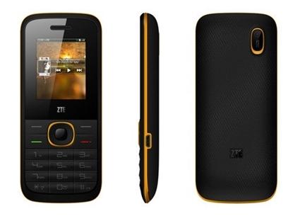 Telefon komórkowy dla seniorów ZTE R528 Dual SIM Czarno-Zółty