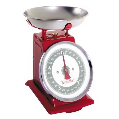 Waga kuchenna Terraillon Tradition 500 red