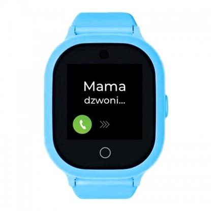 Smartwatch GPS  Bezpieczna Rodzina dla dzieci. Wodoodporny GJD.06 Niebieski