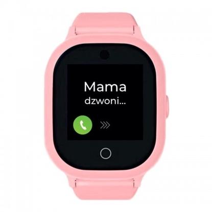 Smartwatch GPS  Bezpieczna Rodzina dla dzieci. Wodoodporny GJD.06 Różowy