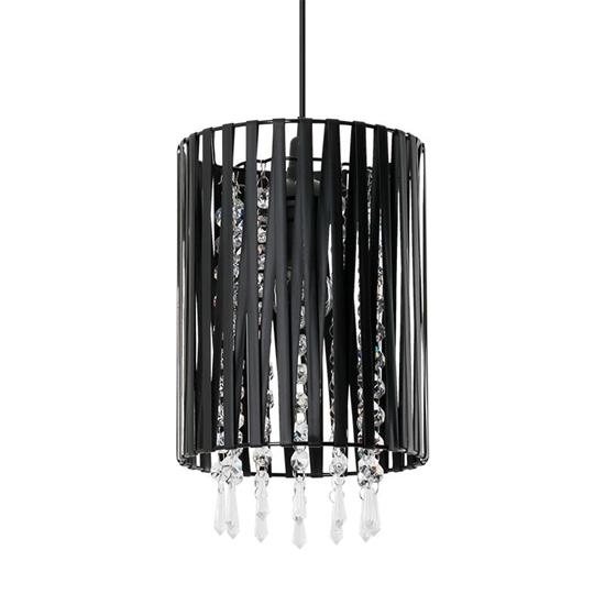 Lampa wisząca Diana 1S czarna