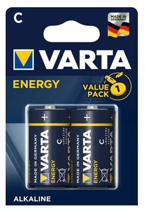 2 x baterie C / LR14 Varta ENERGY  Value Pack (blister)