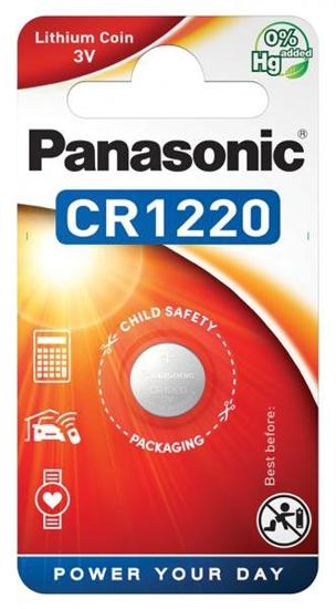 bateria litowa Panasonic CR1220 (blister)