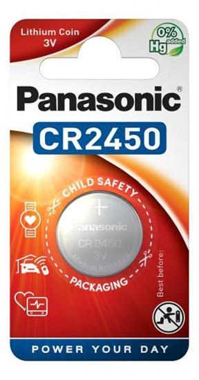 bateria litowa Panasonic CR2450 (blister)