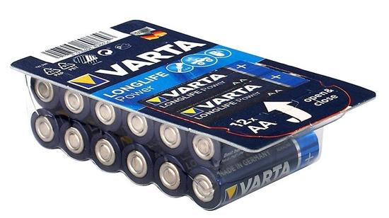12 x Varta Longlife Power LR6/AA 4906 (High Energy)