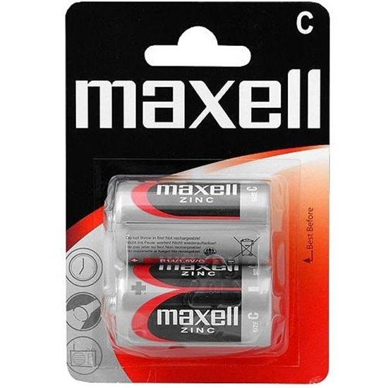 2 x bateria cynkowo-węglowa Maxell R14 / C (blister)