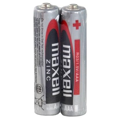 2 x bateria cynkowo-węglowa Maxell R03 / AAA (taca)