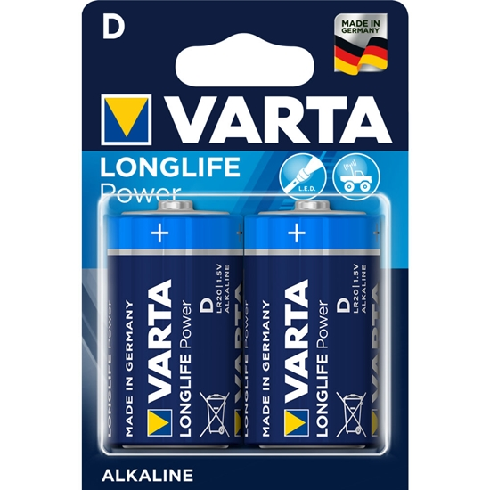 2 x Varta Longlife Power LR20/D 4920 (blister)