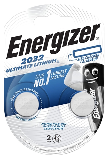 2 x bateria litowa mini Energizer Ultimate Lithium CR2032