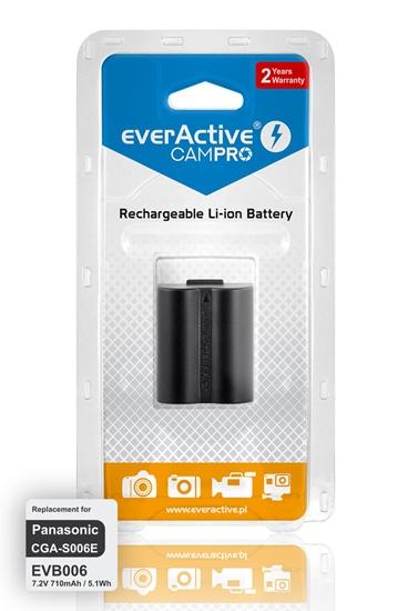 Bateria (akumulator) everActive CamPro - zamiennik do aparatu fotograficznego Panasonic CGA-S006