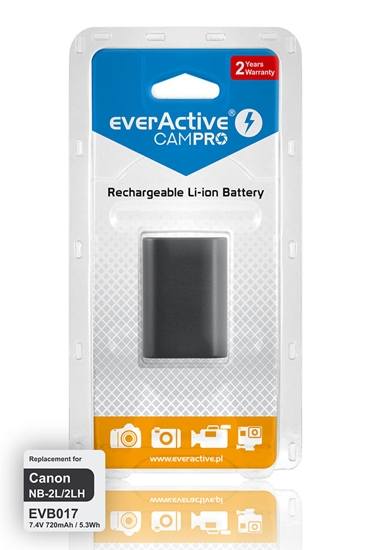 Bateria (akumulator) everActive CamPro - zamiennik do aparatu fotograficznego Canon NB-2L / NB-2LH
