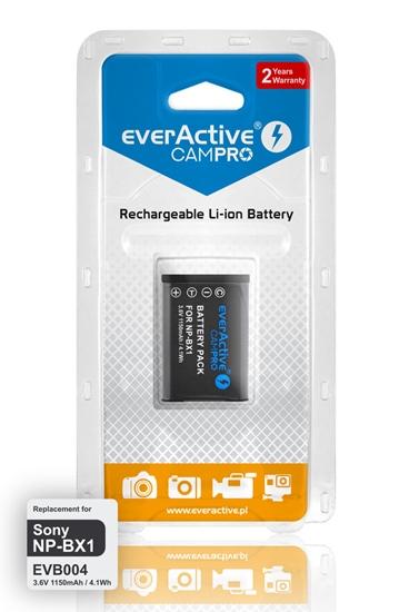 Bateria (akumulator) everActive CamPro - zamiennik do aparatu fotograficznego Sony NP-BX1