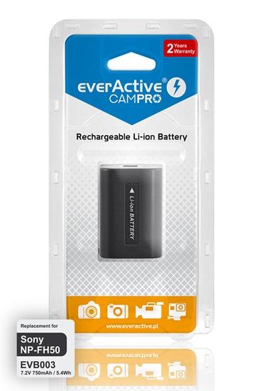 Bateria (akumulator) everActive CamPro - zamiennik do aparatu fotograficznego Sony NP-FH50