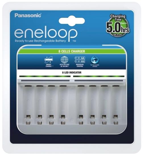 Ładowarka akumulatorków Ni-MH Panasonic Eneloop BQ-CC63