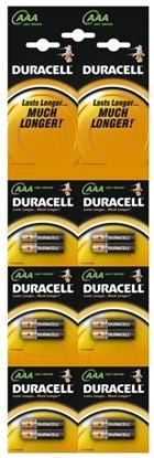 12 x bateria alkaliczna Duracell Duralock Basic C&B LR03 AAA (blister)