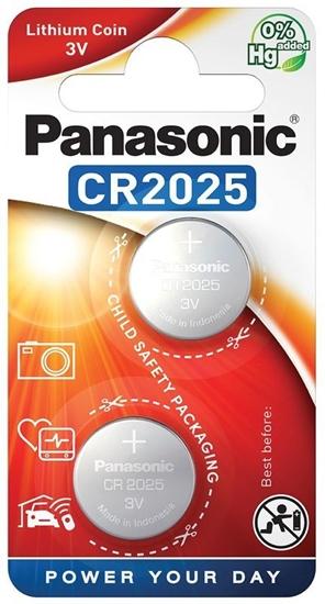 2 x bateria litowa mini Panasonic CR2025