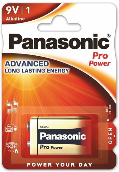 Panasonic Alkaline PRO Power 6LR61/9V (blister)