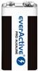 1 x bateria alkaliczna everActive Pro 6LR61 / 6LF22 9V (blister)