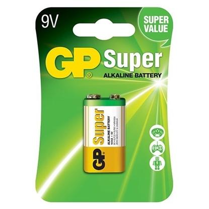 1 x bateria alkaliczna GP Super Alkaline 6LR61 / 9V