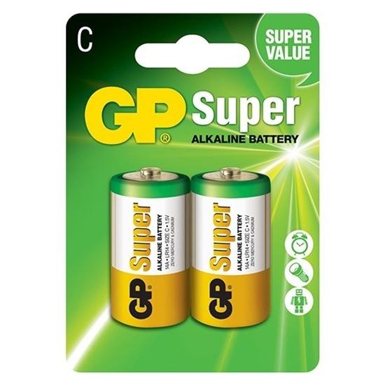 2 x bateria alkaliczna GP Super Alkaline LR14 / C