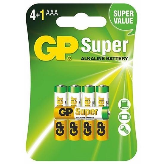5 x bateria alkaliczna GP Super Alkaline LR03 / AAA